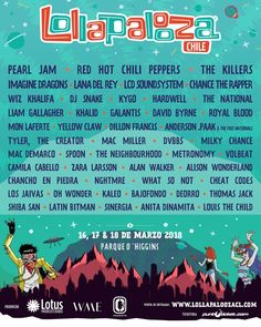 Lana Del Rey will be performing at Lollapalooza Chile in March 2018 #LDR #news