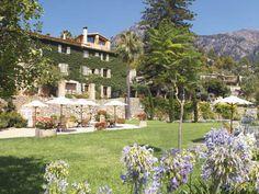 Hotel La Residencia, in Deia, exterior and grounds Mallorca Majorca