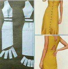 Fantastic Pic hand sewing dress Popular 54 Ideas Sewing Dress Patterns Dressmaking For 2019 Dress Making Patterns, Skirt Patterns Sewing, Clothing Patterns, Dress Design Patterns, Vintage Dress Patterns, Coat Patterns, Blouse Patterns, Diy Clothing, Sewing Clothes