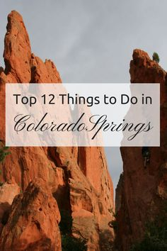 An insider's guide to fun things to do in Colorado Springs, all college student approved.… Read More Top 12 Things To Do In Colorado Springs Colorado Springs Things To Do, Colorado Springs Restaurants, Road Trip To Colorado, Visit Colorado, Colorado Hiking, Colorado Mountains, Denver Colorado, Spring Vacation, Vacation Ideas