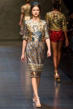 Dolce Gabbana Fall 2013.