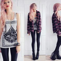 plaid jacket | Tumblr