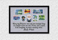 Claude Monet cross stitch pattern