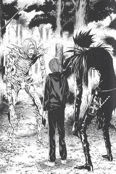 Tags: Death Note/ Light Yagami/ Ryuk/ Rem/ Death Note Manga