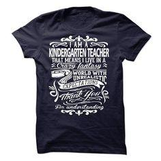 KINDERGARTEN TEACHER - #jean shirt #gray tee. LIMITED TIME PRICE => https://www.sunfrog.com/LifeStyle/KINDERGARTEN-TEACHER-52575123-Guys.html?68278
