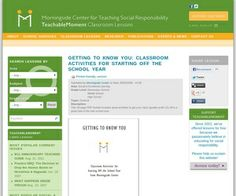getting to know you-beginning of the year resource