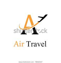 Design Agency, Logo Design, Plane Icon, Travel Logo, Travel Agency, Toronto, Royalty Free Stock Photos, Logos, Ideas