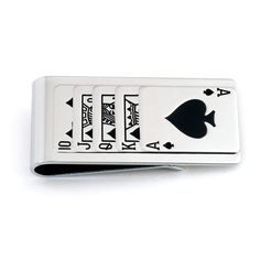 Playing Cards Money Clip   Anson