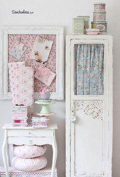 Beautiful Shabby Chic Fabric Decorations