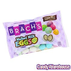 Brach's Fiesta Malted Milk Chocolate Easter Eggs - Pastels: 20-Piece Bag - 2016