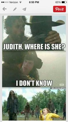 Where is Judith? Is she dead? If not who is she with?