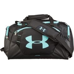 e220b988e8 Under Armour Undeniable Extra-Small Duffel Bag Black Light Blue - Athletic  Sport Bags