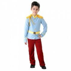 Fantasia Principe Luxo Tamanho M 6 A 8 Anos - Sulamericana