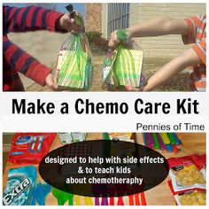 """Pennies of Time: """"Penny of Time"""" Adventure: Making Chemo Care Packages"""