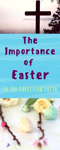 Easter is central in the Christian faith. But what's really so important about Easter? Shouldn't we be celebrating Jesus everyday? Find out why the tenants of Easter are the crux of the Christian faith. Easter Lunch, Easter Dinner, Easter Eggs, Easter Crafts For Toddlers, Toddler Crafts, Easter Recipes, Holiday Recipes, Unique Baby Announcement, Baby Announcements