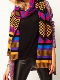 Winter Scarf Trends 2013 - Cool Scarves For Women - Cosmopolitan