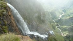 Tugela Falls Kwazulu Natal, Weird Stories, South Africa, The Good Place, Waterfalls, World, Outdoor, Image, Falling Waters