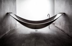 Splinter Works may have created the ultimate way to relax with Vessel, a new and elegant take on the modern bathtub. The design resembles the imagery of a hammock, and is constructed out of carbon fiber for its strength and ability to form complex curves. Floating off of the ground, Vessel is attached to the walls by two stainless steel brackets that can be covered or left bare and is filled by a sleek floor standing tap. As for drainage, there is a a built in water release at the base of…