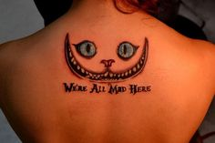 28 Best Were All Mad Here Tattoo Images In 2017 Were All Mad Here