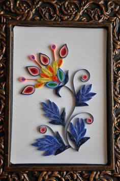 nhipaperquilling: 13/ Paper quilling - Color collection