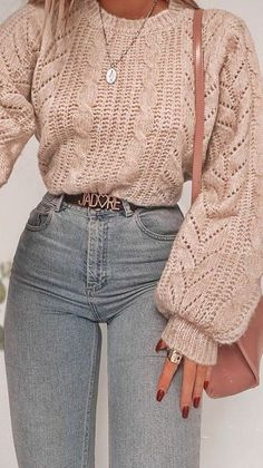 Wonderful outfits & popular looks for ideal girls – khác – – My World Casual Winter Outfits, Winter Fashion Outfits, Look Fashion, Outfit Winter, Fashion Clothes, Summer Outfits, Winter Ootd, Hijab Casual, Ootd Hijab