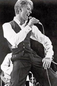 Thin White Duke (80's David Bowie) been crushing on u since 1984!
