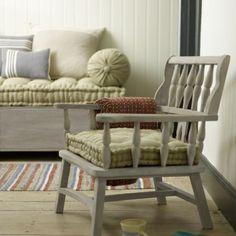 Emma – Vintage Handmade Weathered Wood Chair Emma - Armchairs | Loaf