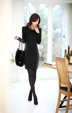 Tara Jiyeon Brown Leopard dress : Cute Cheap Clothing | Buy ...