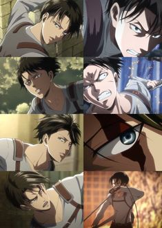 Rare images of Levi Ackerman from of SNK where they were actually consistent with his face dimensions . Film Manga, Manga Anime, Anime Art, Fanarts Anime, Anime Characters, Eren E Levi, Connie Springer, Japon Illustration, Rivamika