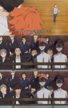 Haikyuu! Hahahaha XD Poor Nishinoya and Shoyo...:D