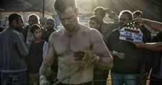 'Bourne 5' First Look at Matt Damon as Shooting Begins -- Producer Frank Marshall shares a photo from the set of 'Bourne 5' as the first day of principle photography wraps. -- http://movieweb.com/bourne-5-matt-damon-set-photo-shooting/