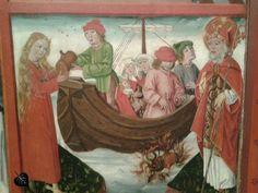 Nikolausaltar der Marienkirche in Mühlhausen 1485 (Stadtmuseum Mühlhausen)