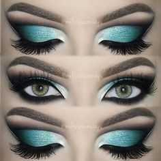 repost from @melissasamways Hey my Loves!  Dramatic Aqua Blue Cut Crease!  New TUTORIAL in YouTube  Link in my Bio  Eyeshadows @motivescosmetics and @aomcosmetics  Eyeshadow Base @nyxcosmetics  Lenses @desioeyes Desert Dream  Eyelashes @velourlashesofficial  ____________________________________________ All #motives products are available for US/CAN at http://ift.tt/19oQHy4 or internationally at Global.Shop.com #motd #motivescosmetics #makeup #beauty #glam #mua by motivescosmetics