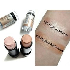 new maybelline master strobing illuminating highlighter stick swatches - Google Search
