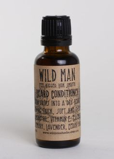 Beard oil. New one on me, but going to have to check this stuff out.