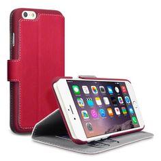 Köp Terrapin Low Profile Plånboksfodral iPhone 6/6S röd online: http://www.phonelife.se/terrapin-low-profile-planboksfodral-iphone-6-rod