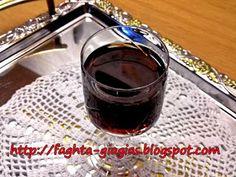 Λικέρ Βύσσινο λιαστό Pomegranate Liqueur, Sour Cherry, Red Wine, Alcoholic Drinks, Cooking Recipes, Glass, Liqueurs, Food, Spirit