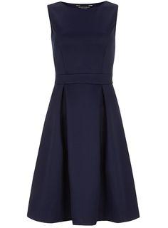 Dorothy Perkins. Blue skater dress