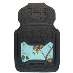 Realtree Mint Camo Front floor mats are functional andpractical interior protection for your vehicle. Theses Floor Mats are designed for every Female that loves to be in the woods! Features: Realtree