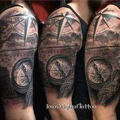 """""""Artist: @josu_original_tattoo. . . . #inkig #ink_ig  #tattoo #tattoos #art #artists #followTheArtists"""""""