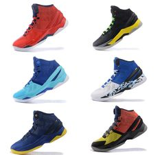 Discount Price 2016 Stephen Curry Two 2 High Top Mens Basketball Shoes Mvp Curry…