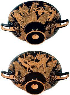 Douris Pentheus kylix