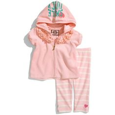 Juicy Couture baby sweat suit! :)
