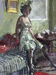 Walter Sickert - Fancy Dress, Miss Beerbohm