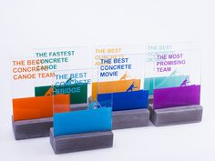 Trophies for the 6th Hungarian Concrete Canue Cup on Behance