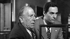 "José Isbert, Nino Manfredi en ""El verdugo"" (1963) Director: Luis García Berlanga."