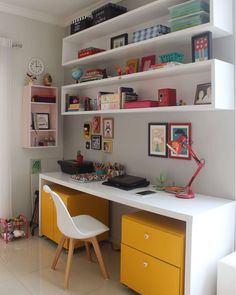Inspiration Kleine Home-Office-Design-Ideen und Dekor mit kleinem Budget – Home Office Design On A Budget Small Room Design, Home Room Design, Home Office Design, Home Office Decor, Home Decor, Office Ideas, Desk Ideas, Study Room Design, Office Style
