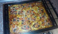 Cuketová pizza bez mouky