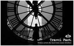 #TravelFact #TimeZones #France