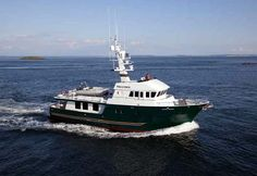 Meander for Sale- 81' Northern Marine expedition yacht from All Ocean Yachts in San Diego, California.